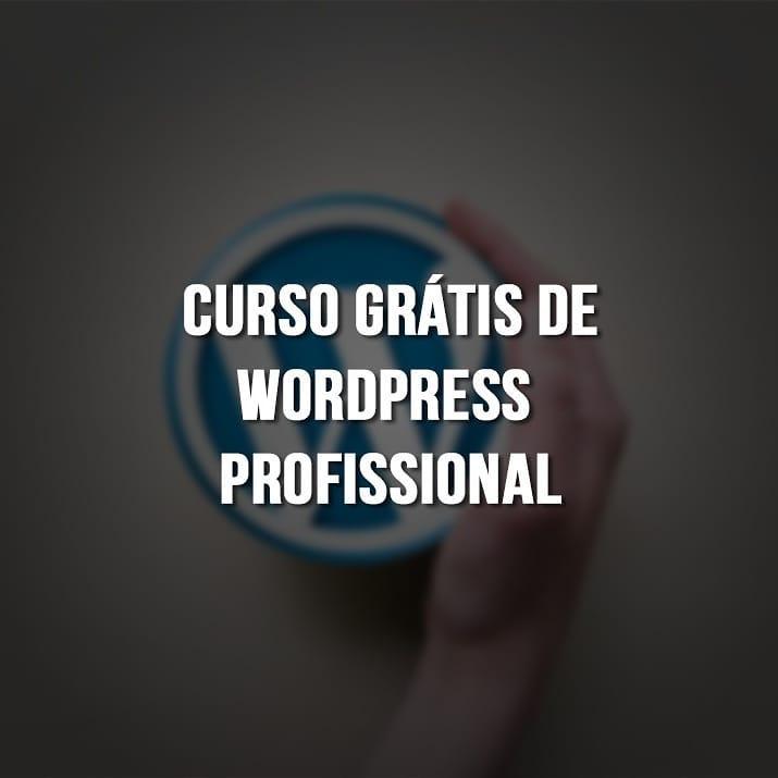 Curso Grátis de WordPress
