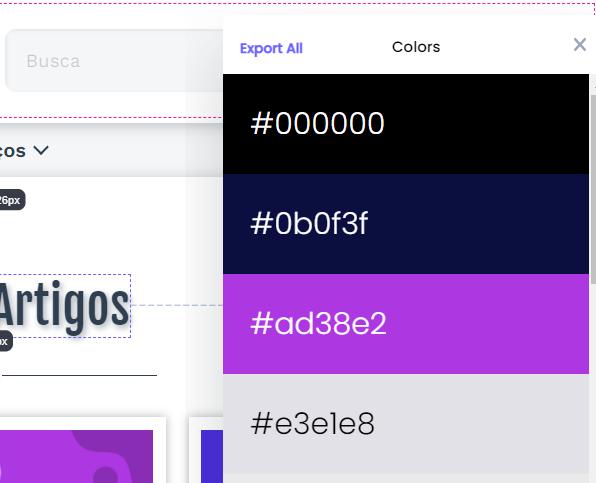 Extensão Chrome: CSS Peeper - Visualizador Inteligente de CSS 7