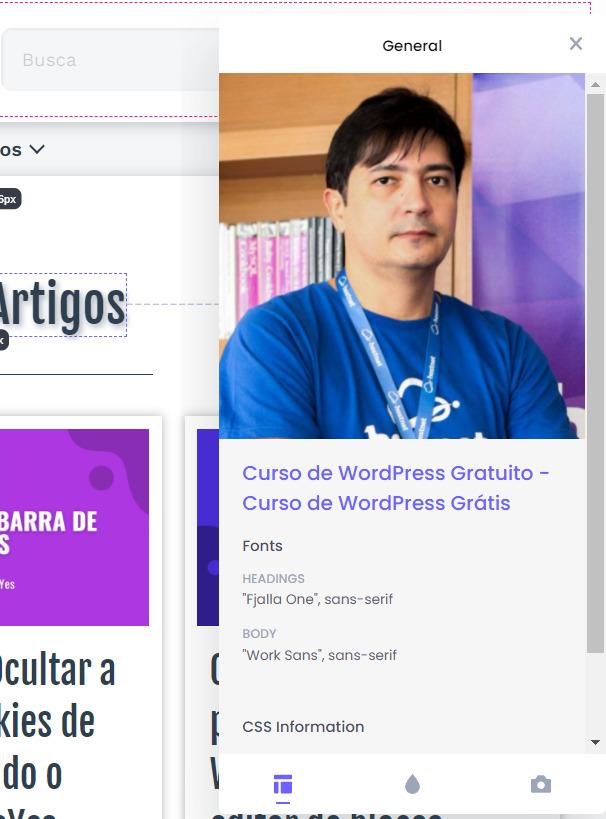 Extensão Chrome: CSS Peeper - Visualizador Inteligente de CSS 4