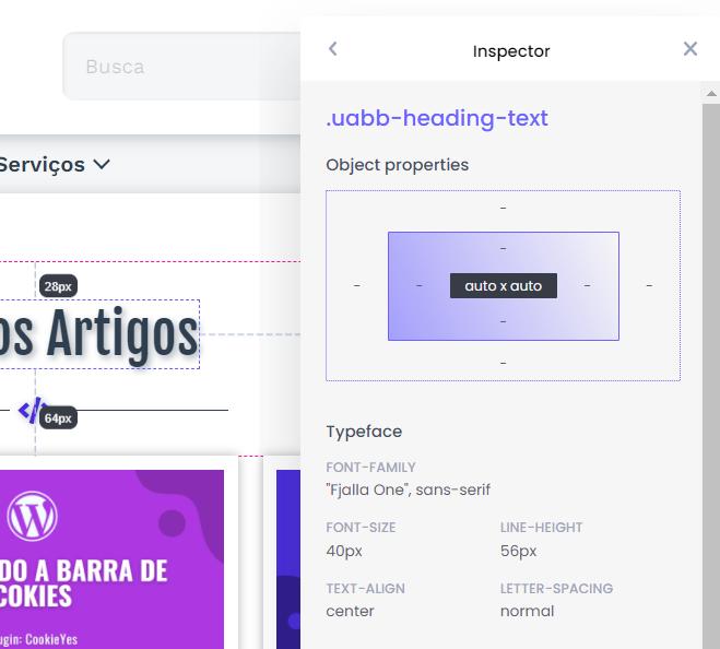 Extensão Chrome: CSS Peeper - Visualizador Inteligente de CSS 5